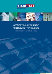 Sterisets Custom Made Procedure Trays & Sets