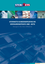 Sterisets Custom Made Procedure Trays & Sets (German)