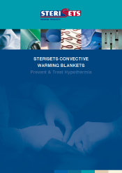 Sterisets Convective Warming blankets